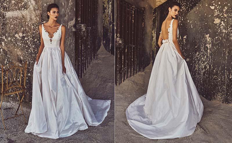 e09674f4aa62c Annabelle gown, £POA, Elbeth Gillis, available soon at Georgina Sheward  Bridal