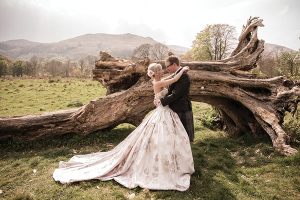 Mari-Claire Riley and Chris Morgan