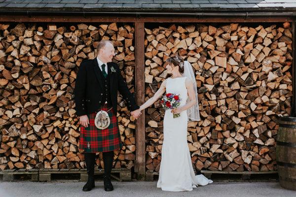 Lynne Davidson and Andy Wheeler