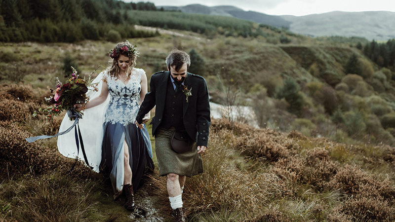 Scottish bespoke designers reveal their favourite gowns from the past year