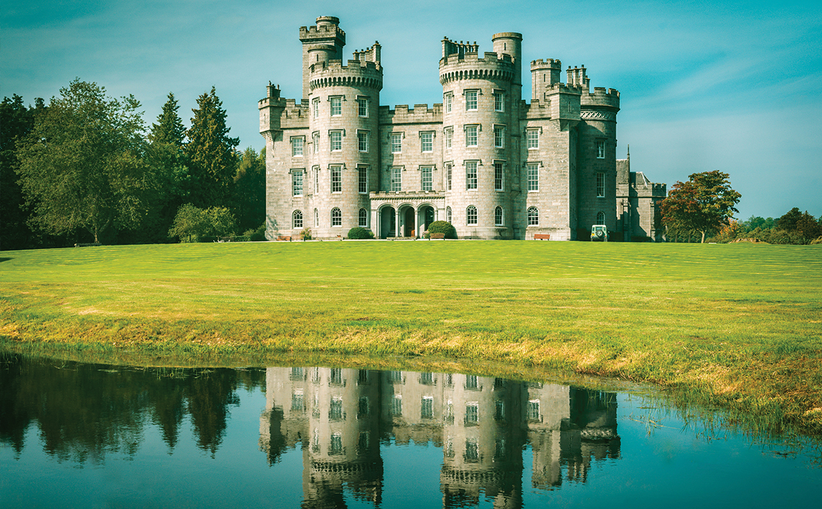 Duns Castle hopes to snatch the trophy at the UK Wedding