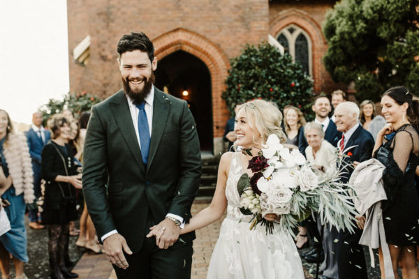 Weddings abroad: Tess Groom and Gregory Peterson