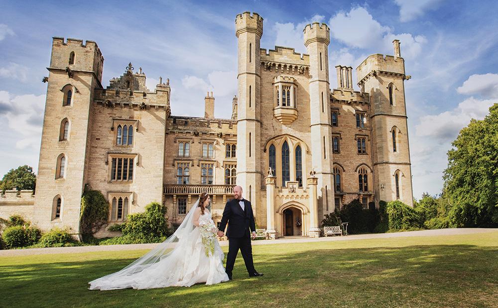Duns Castle, castle wedding venue in Berwickshire, Scotland
