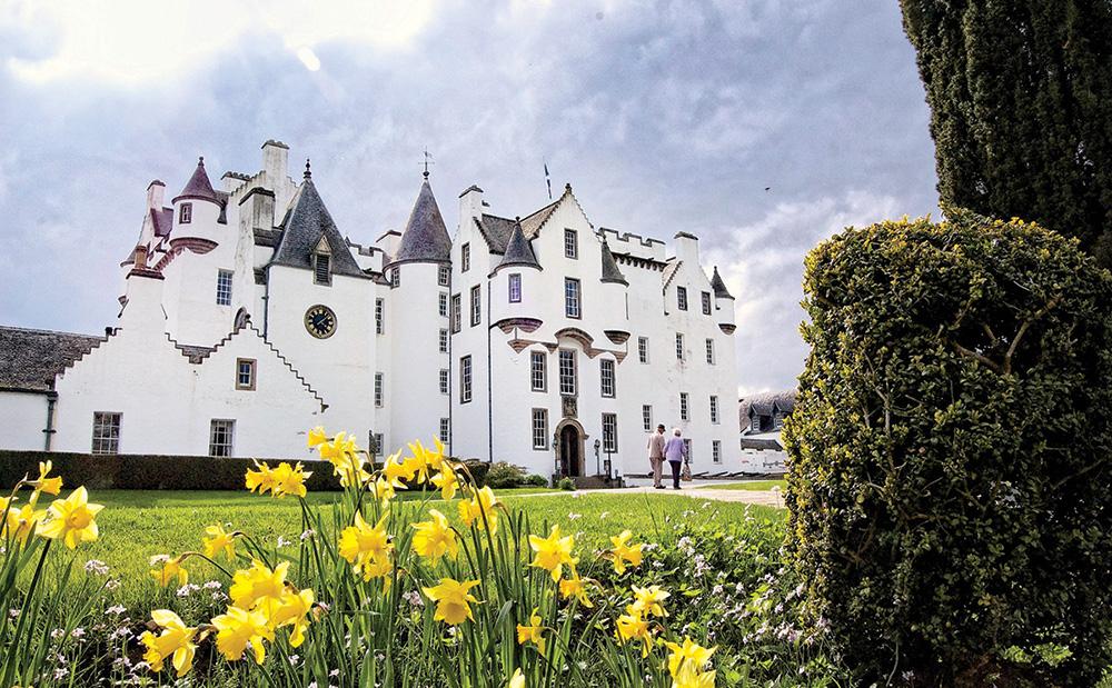 Blair Castle, castle wedding venue in scotland