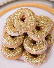 Glitter doughnuts