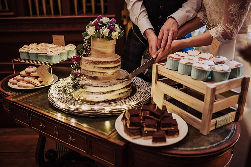 Mike Meller real life wedding
