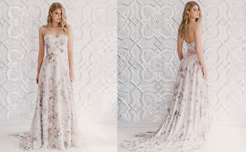 Flora gown by Wendy Makin, £POA, available at Kudos Bridal Boutiques