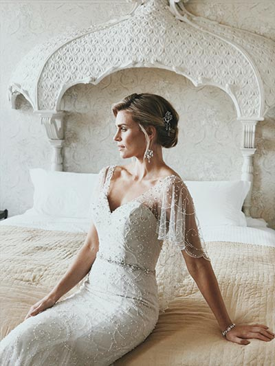 Laney gown (style W310) by True Bride, £1,500, Ivory Whites
