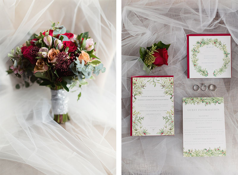 flowers and stationery