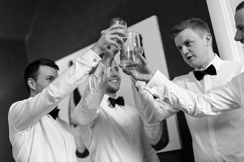 grooms cheers