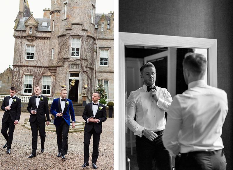 grooms and groomsmen