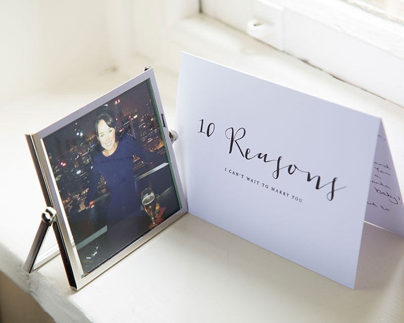 card and frame
