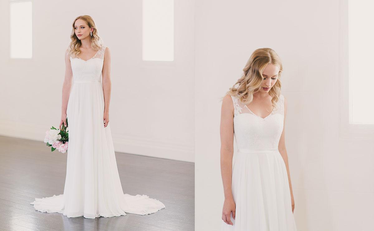 Kiara gown by Wendy Makin