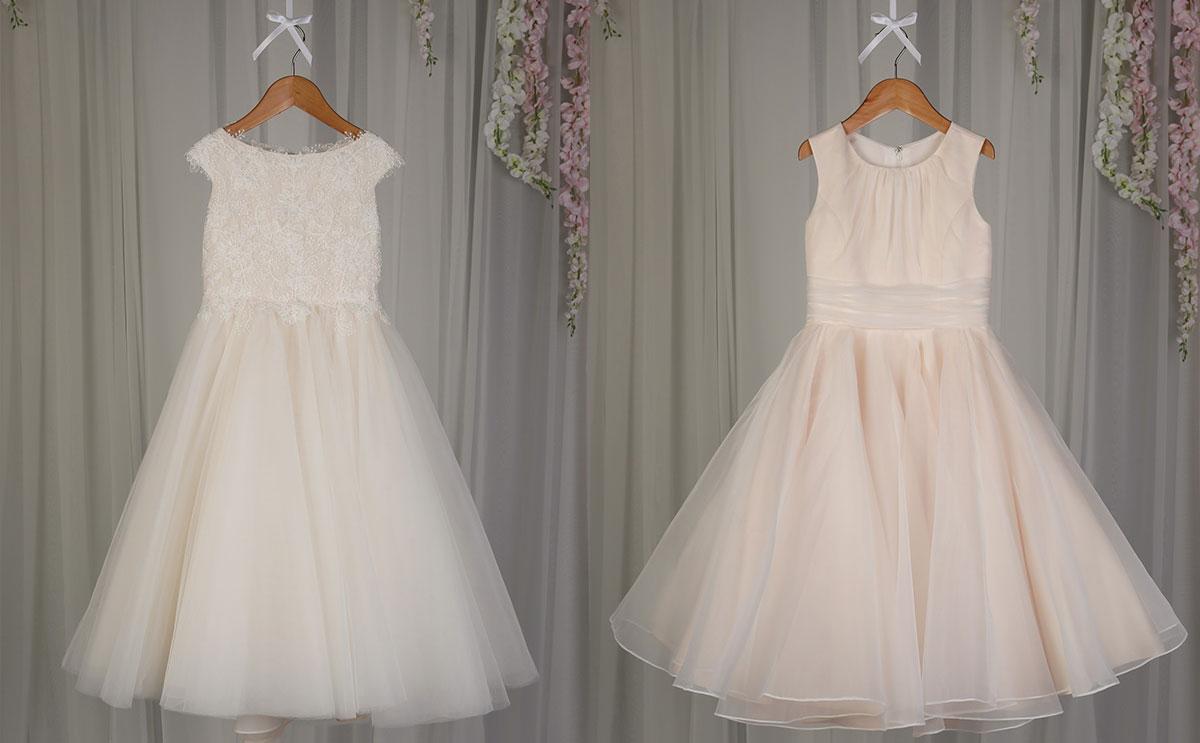 Richard Designs flower girl dresses