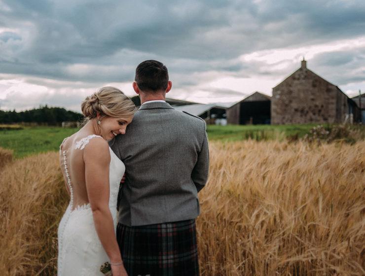 A wedding at Bachilton Barn