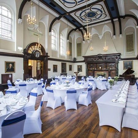 1599 wedding interior