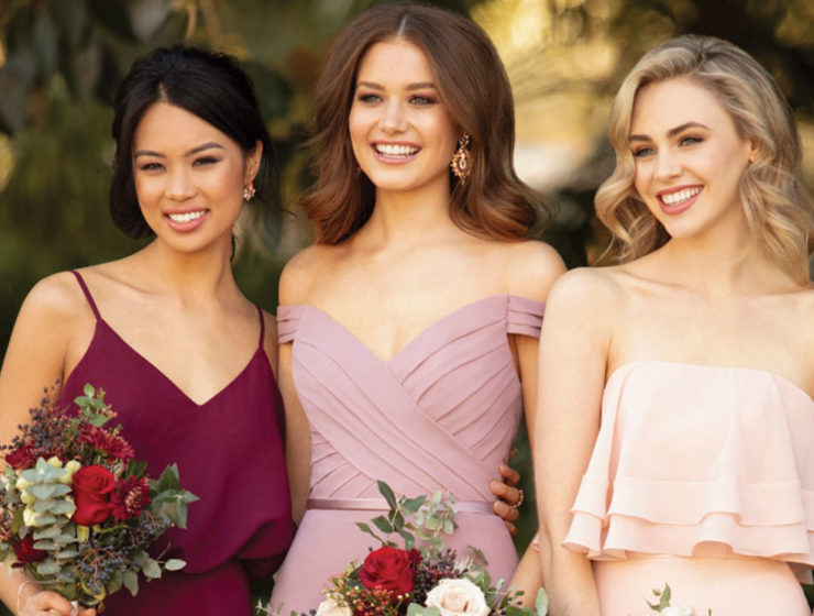 Bridesmaid dresses from Sorella Vita