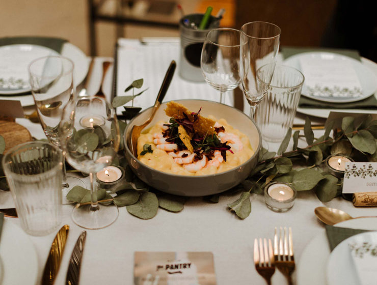 The Wedding Collective place setting