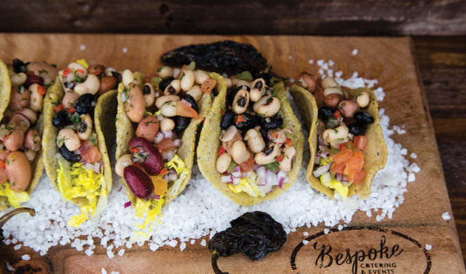 Tacos from Bespoke Catering & Events