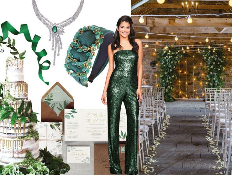 emerald moodboard