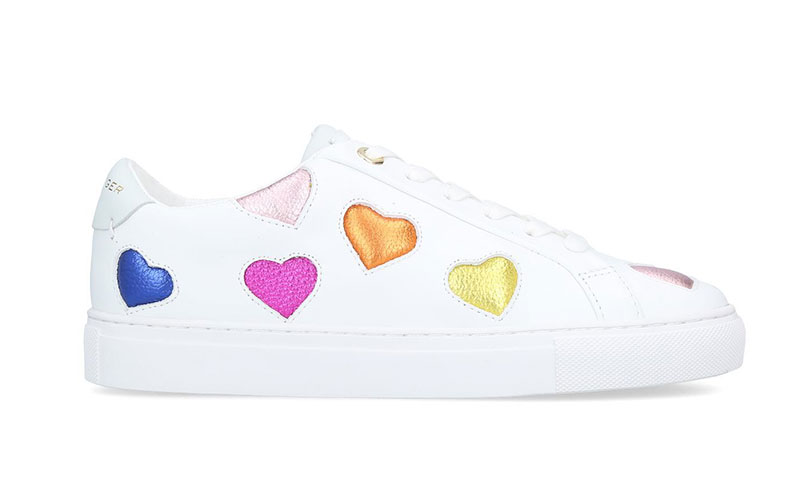 Lane Love trainers, £129, Kurt Geiger