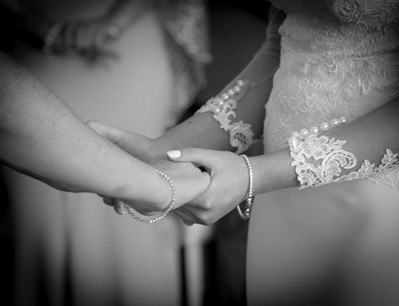 hands close up