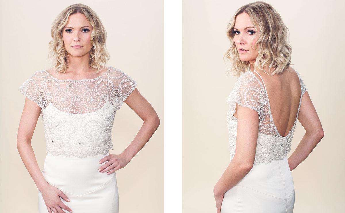 CG& Charlotte bridal topper