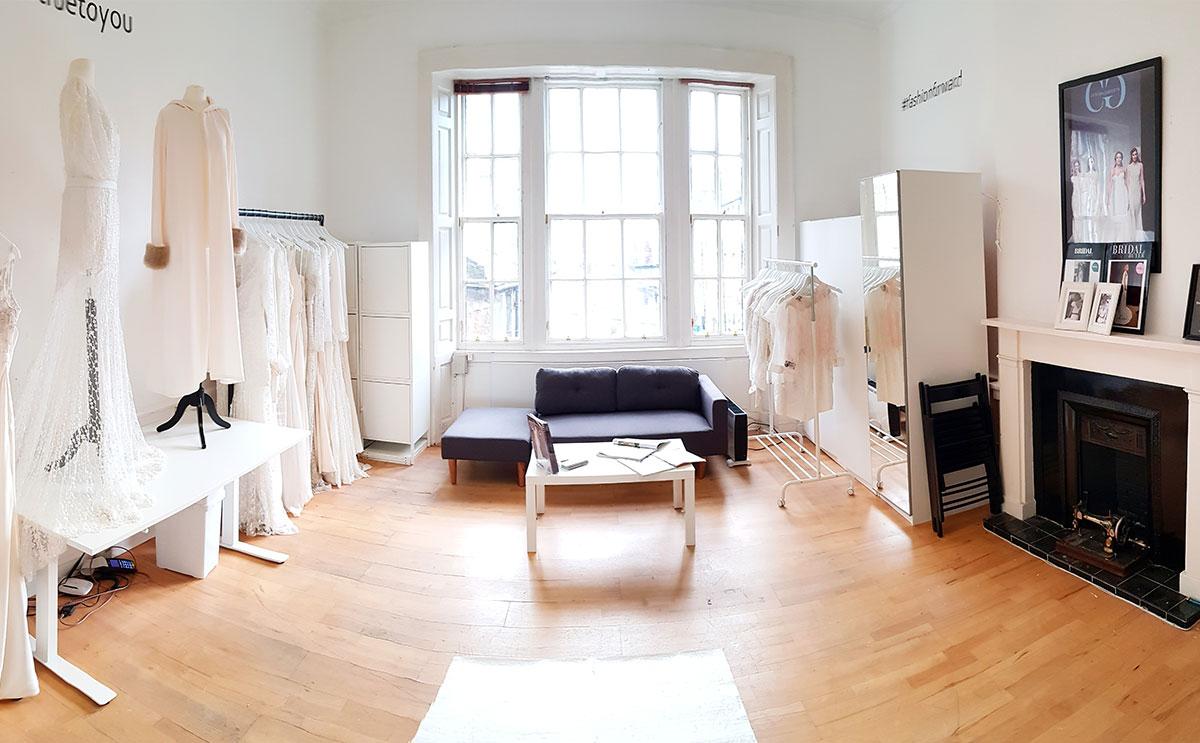 Catriona Garforth Bridal's studio