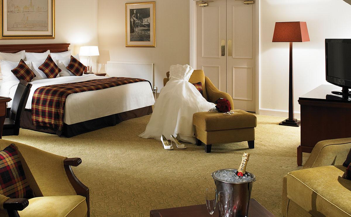 Dalmahoy's bridal suite
