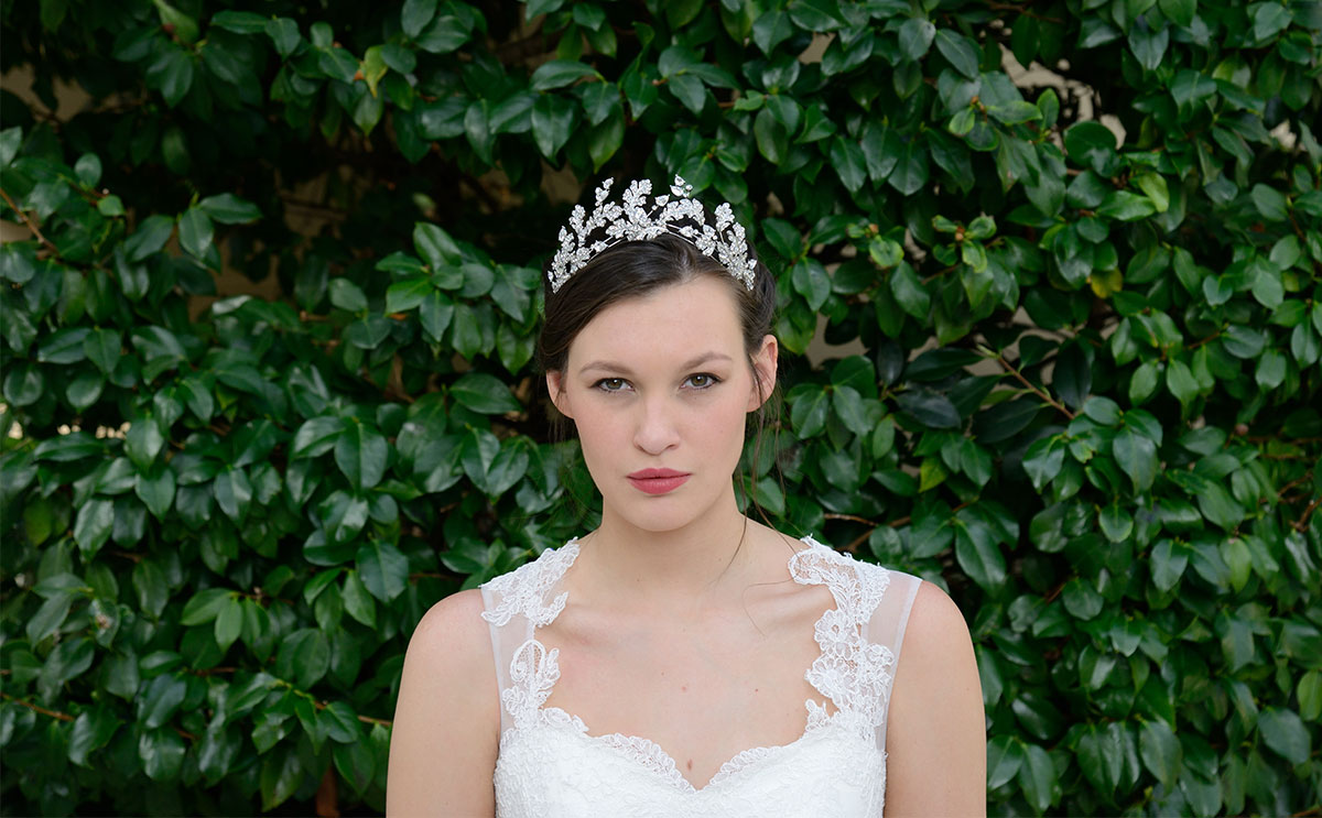 Valkyrie tiara by Ivory & Co