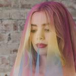 over the rainbow veil