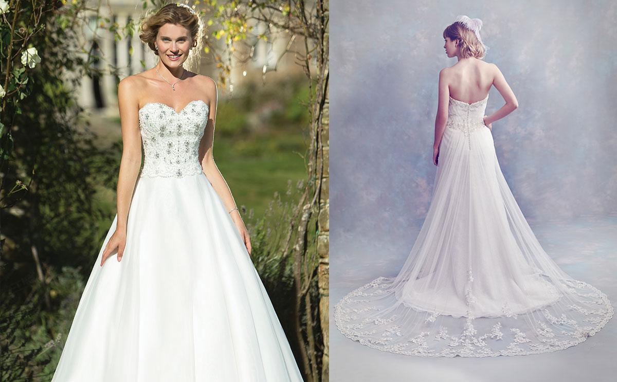 True Bride and Diane Harbridge gowns