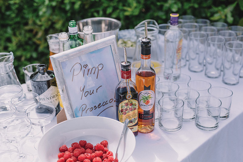 pimp your prosecco station