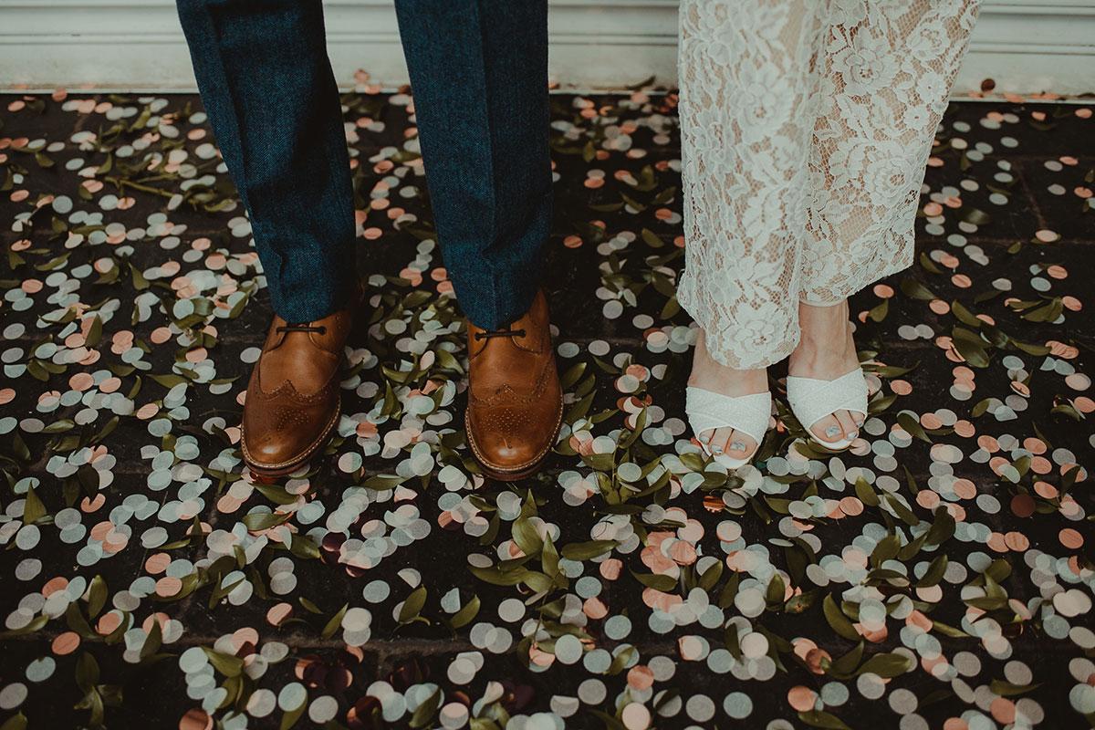groom-wearing-brogues-and-bride-wearing-heels