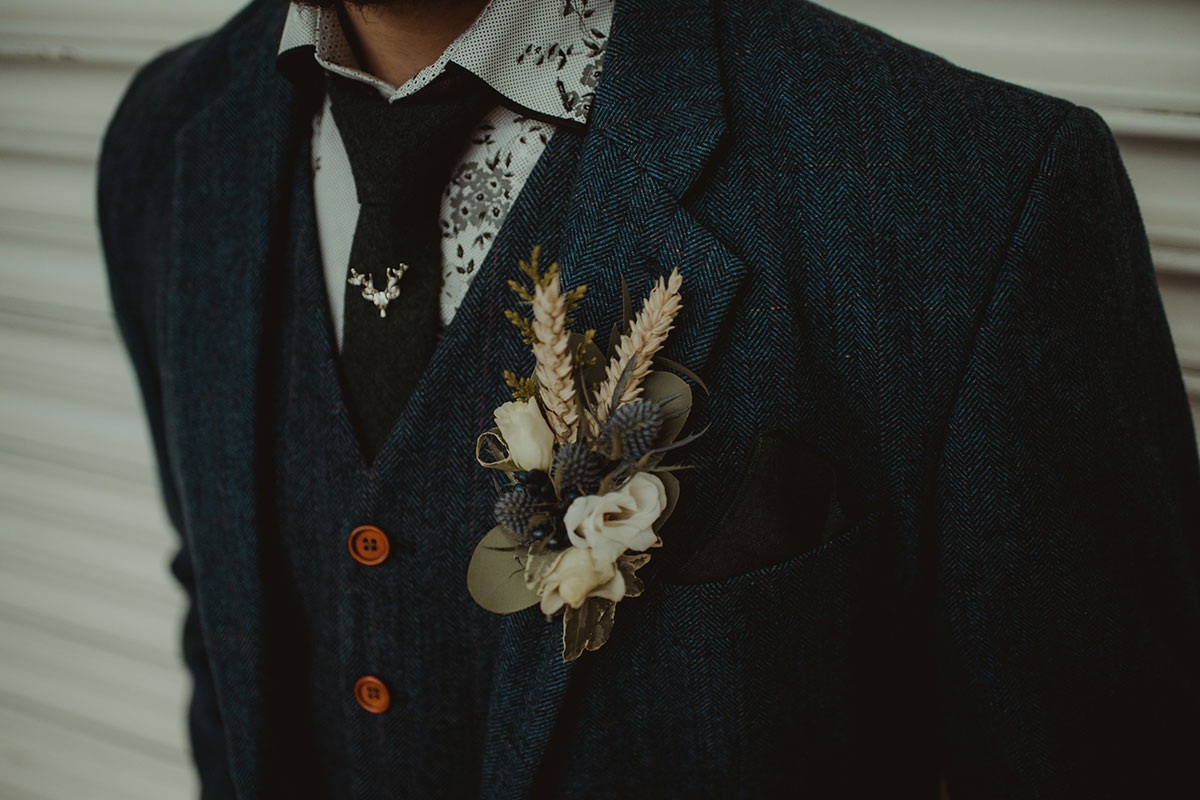 blue-tweed-suit-and-rustic-buttonhole