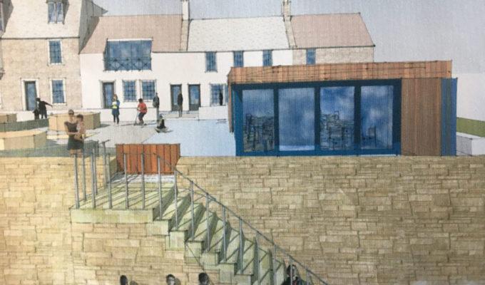 artist's impression of ship's cabin, elie