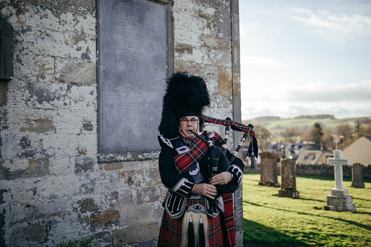 bagpiper-outside-the-church