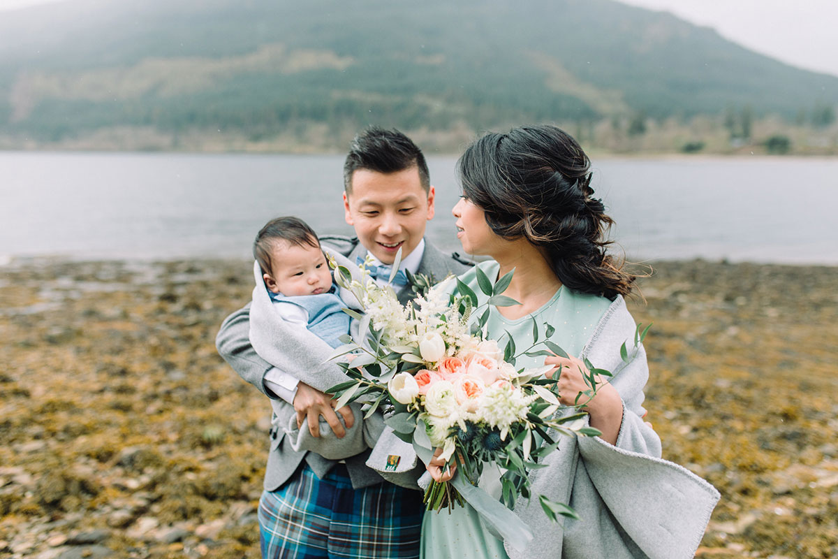 baby-with-bridesmaid-and-best-man