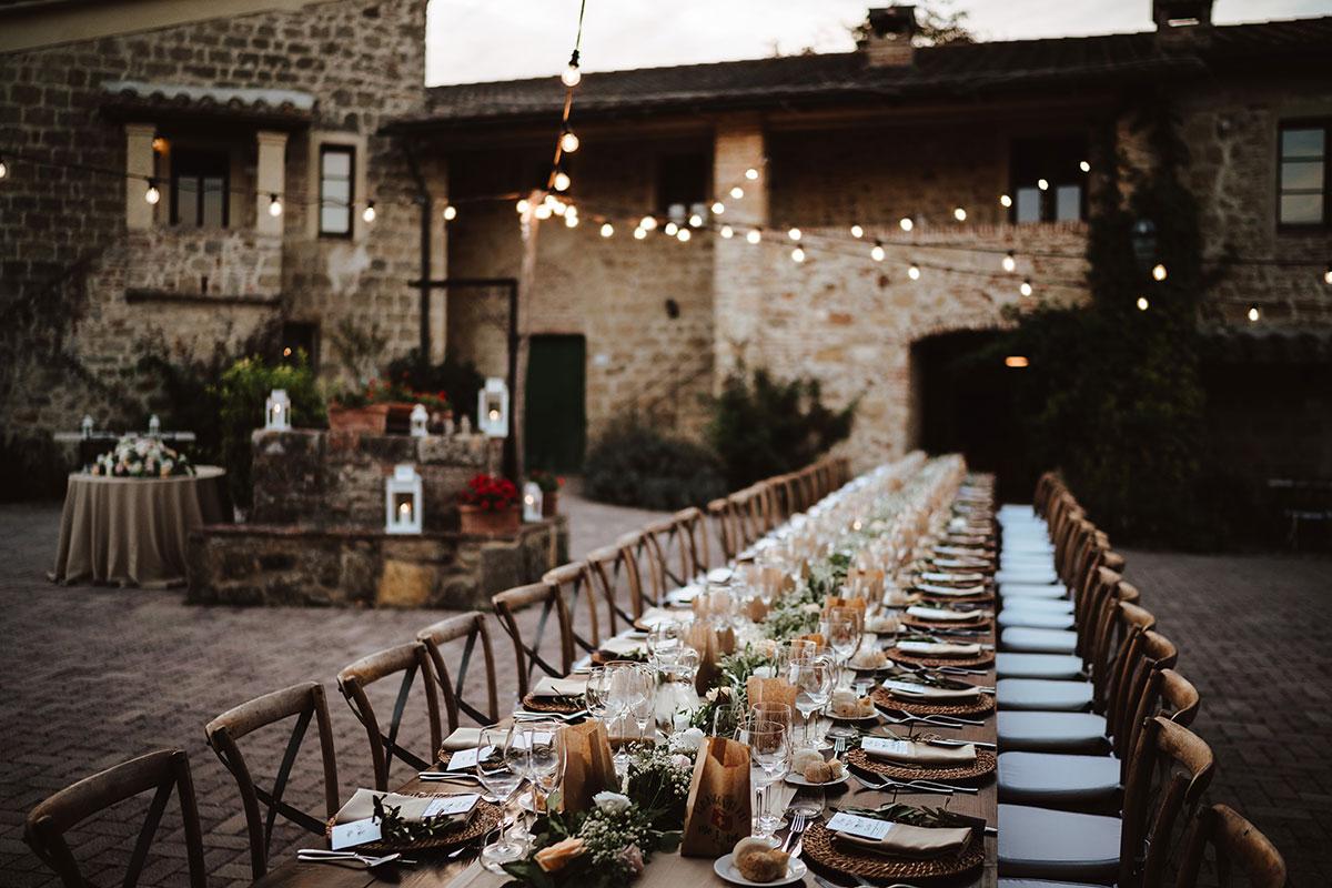 courtyard-at-Tenuta-di-Papena-set-for-a-wedding