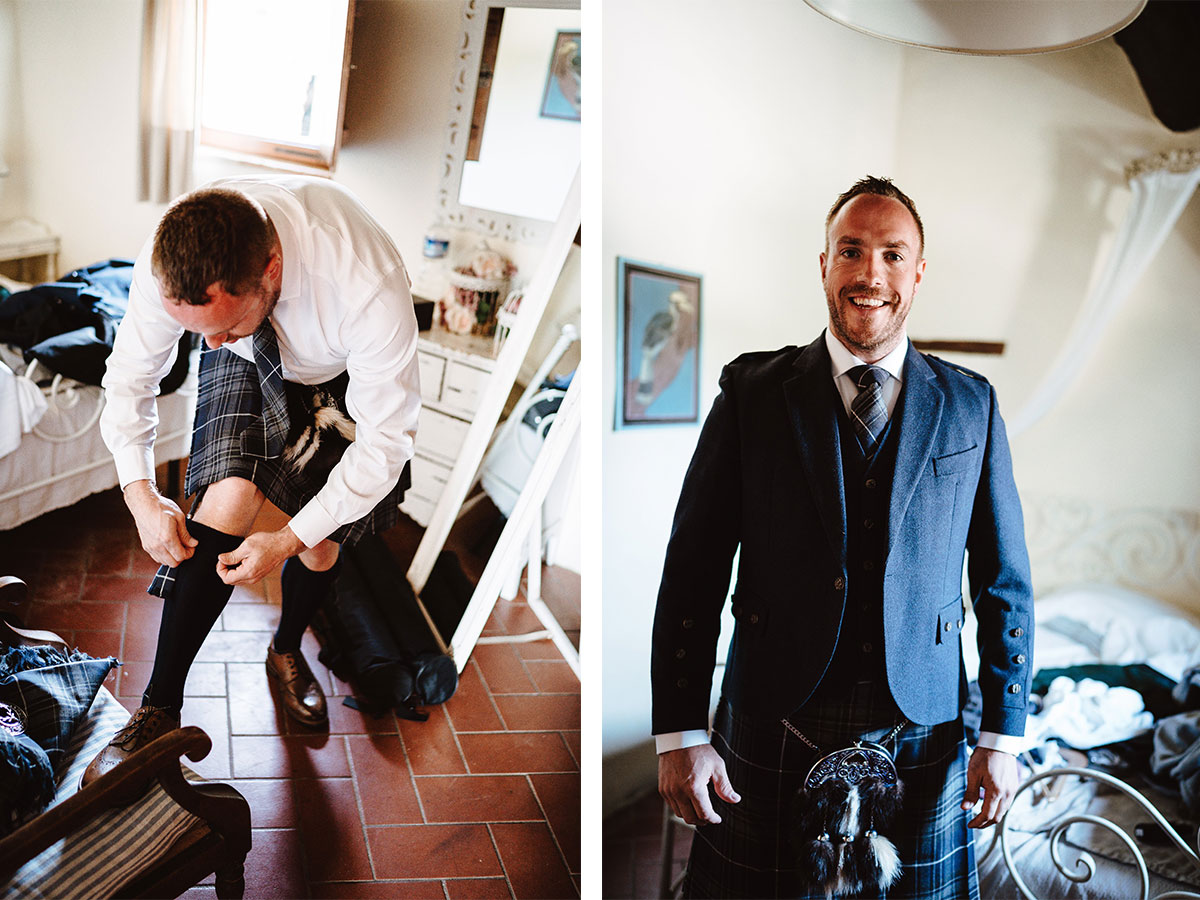 groom-getting-ready-into-blue-kilt-outfit