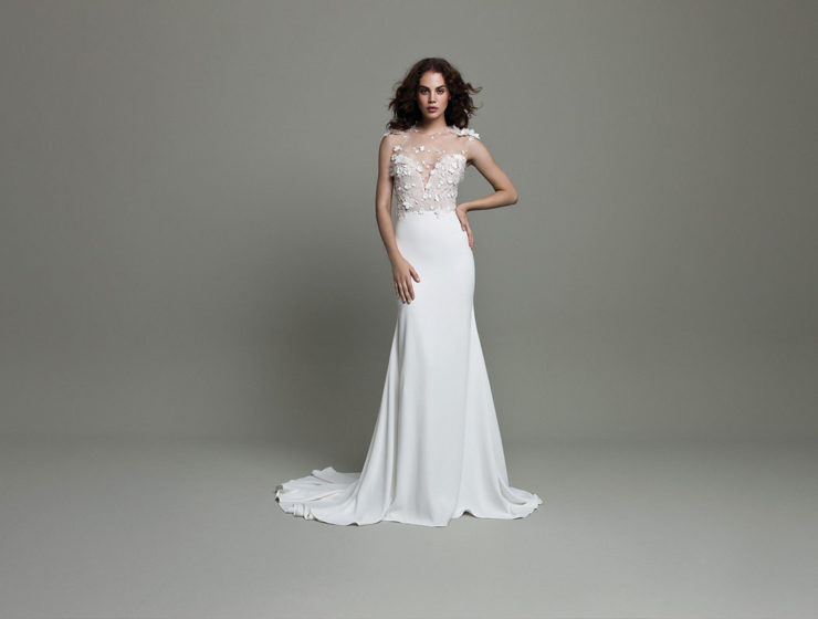 Style WSP610, £2,430, Daalarna, available at Pan Pan Bridal