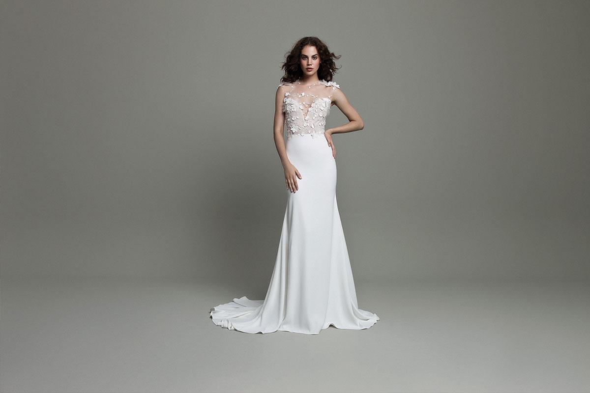 Style WSP610, £2,430, Daalarna, available at Pan Pan Bridal