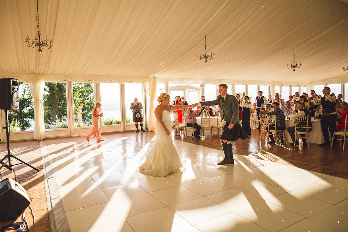 first-dance-in-boturich-castle's-marquee