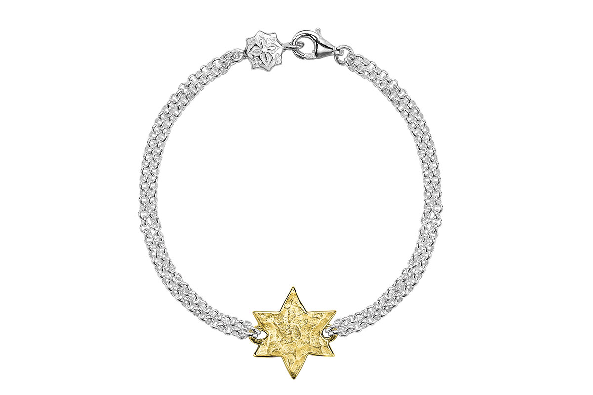 celestial_dower_&_hall_18ct_Gold_Vermeil_&_Sterling_Silver_Star_Bracelet