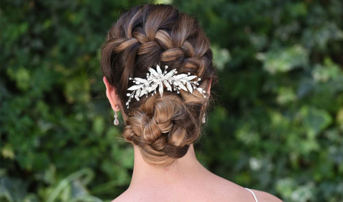 Ivory & Co hair clip