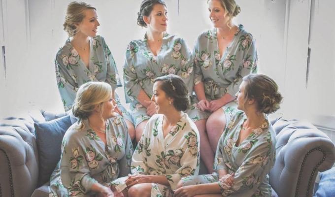 brideal-party-in-flowery-robes
