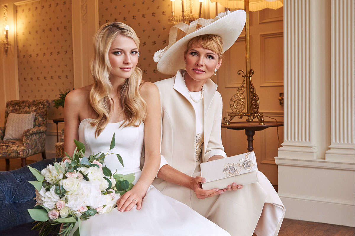 Joyce Young Design Studios bride and mother