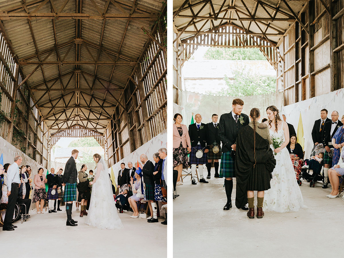 wedding-ceremony-in-barn