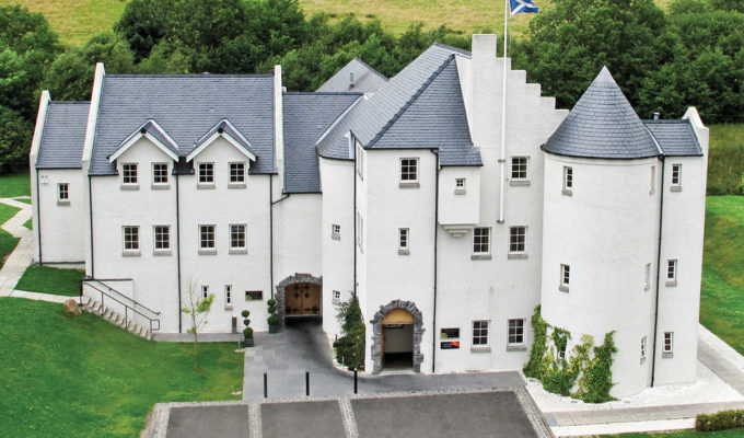 glenskirlie castle