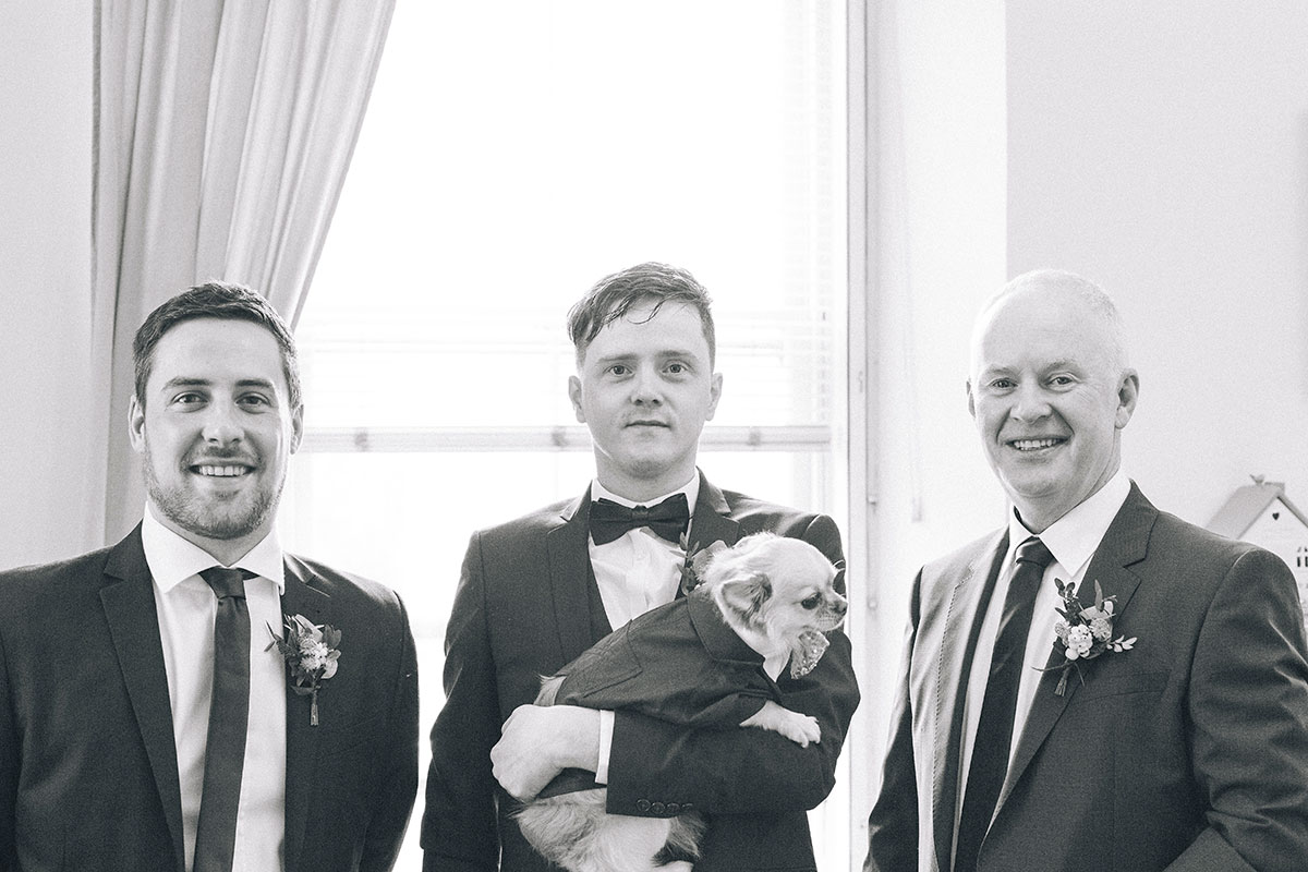 groom-and-groomsmen-with-chihuahua